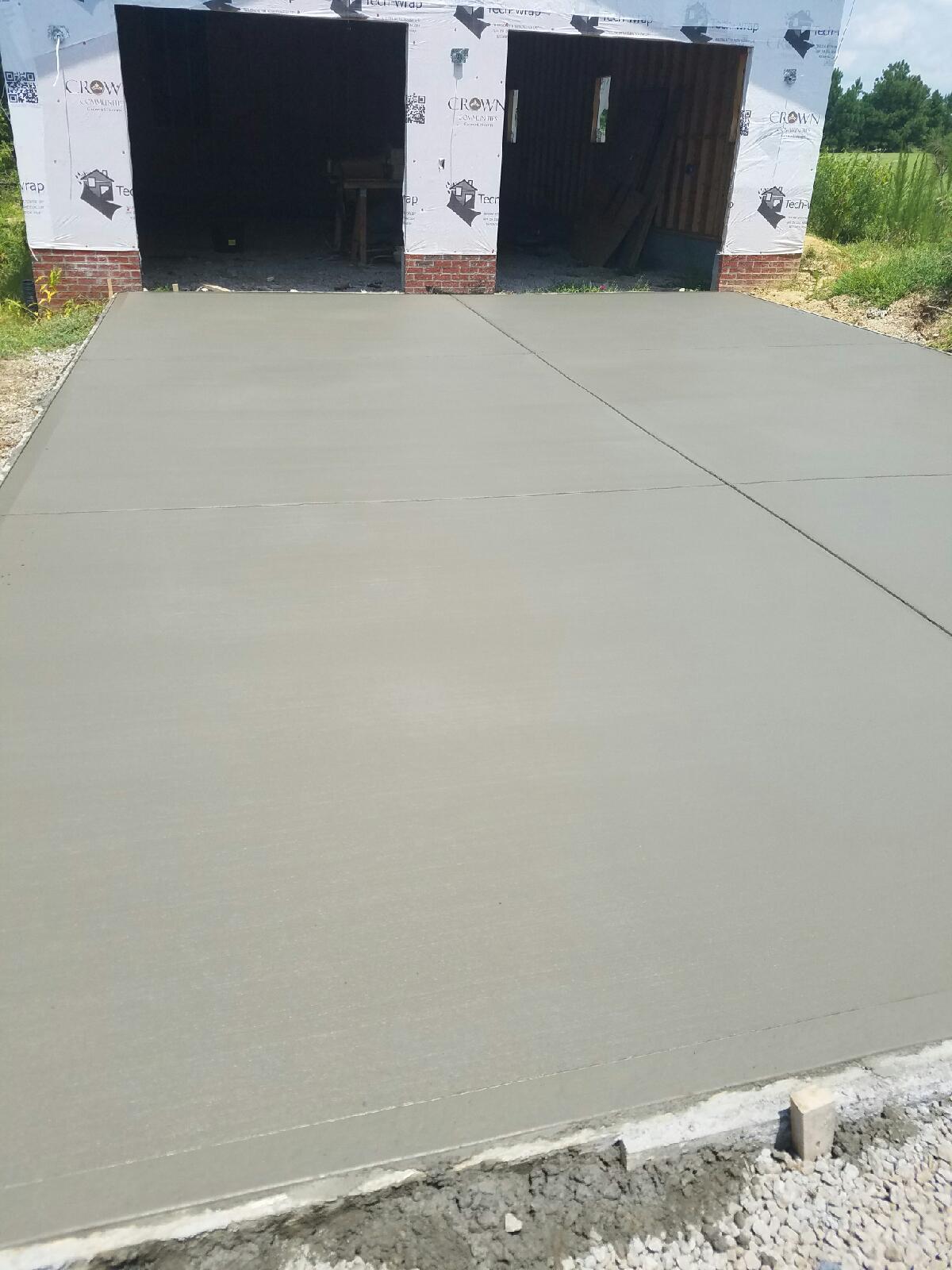 Concrete slabs raleigh nc garage patio barn parking slab solutioingenieria Images